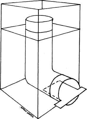 Ракетная печь своими руками чертежи размеры